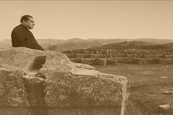 Alfredo in sacsayhuaman