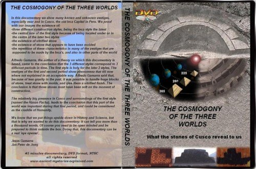 DVD Cosmogony of the 3 worlds